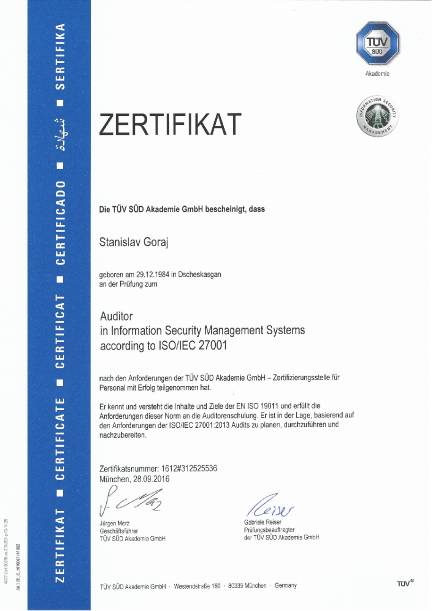 ISO27001 Auditor